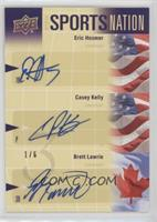 Casey Kelly, Brett Lawrie, Eric Hosmer #/6