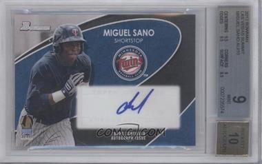 2012 Bowman Industry Summit - [Base] #N/A - Miguel Sano /10 [BGS 9]