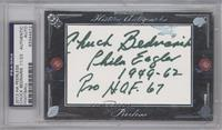 Chuck Bednarik [PSA/DNA Certified Encased] #/23
