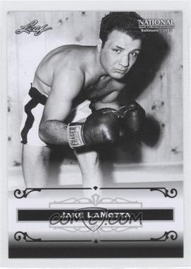 2012 Leaf National Convention - [Base] #JLM - Jake LaMotta