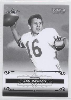 2012 Leaf National Convention - [Base] #LD1 - Len Dawson