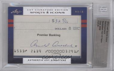 2012 Leaf Sports Icons Cut Signatures - Authentic Cut Signature #REAU - Red Auerbach [BGSAUTHENTIC]