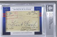 Frankie Frisch, Willie Mays /1 [Uncirculated]