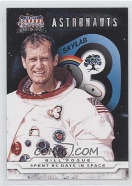 2012 Panini Americana Heroes & Legends - Astronauts #4 - Bill Pogue