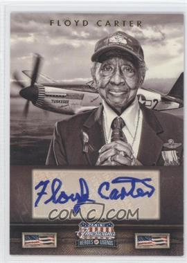 2012 Panini Americana Heroes & Legends - Elite - Signatures [Autographed] #104 - Floyd Carter /151
