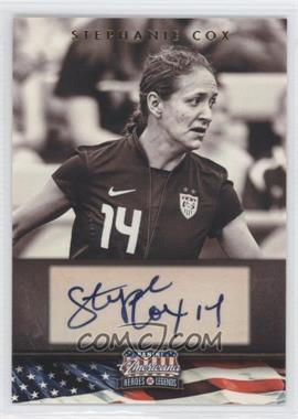 2012 Panini Americana Heroes & Legends - Elite - Signatures [Autographed] #117 - Stephanie Cox /179