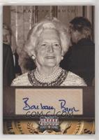 Barbara Bush #/129