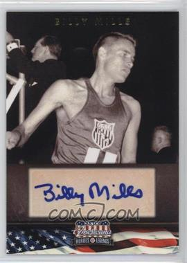 2012 Panini Americana Heroes & Legends - Elite - Signatures [Autographed] #61 - Billy Mills /399