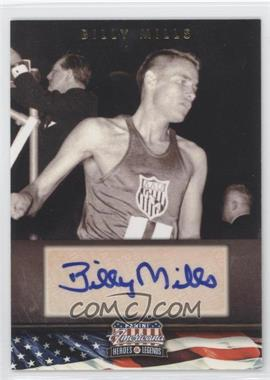 2012 Panini Americana Heroes & Legends - Elite - Signatures [Autographed] #61 - Billy Mills /399