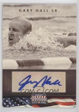 2012 Panini Americana Heroes & Legends - Elite - Signatures [Autographed] #92 - Gary Hall Sr. /299