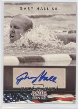 2012 Panini Americana Heroes & Legends - Elite - Signatures [Autographed] #92 - Gary Hall Sr. /299