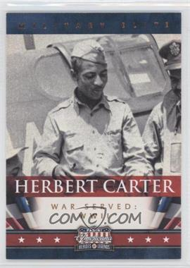 2012 Panini Americana Heroes & Legends - Military Elite #5 - Herbert Carter