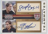 Stephanie Cox, Tobin Heath /49