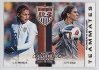 Alex Morgan, Hope Solo
