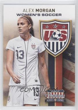 2012 Panini Americana Heroes & Legends - US Women's Soccer Team #2 - Alex Morgan