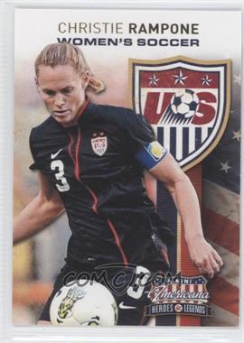 2012 Panini Americana Heroes & Legends - US Women's Soccer Team #8 - Christie Rampone