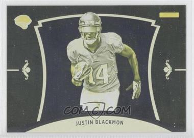 2012 Panini Black Friday - [Base] - Progressions Yellow #49 - Justin Blackmon
