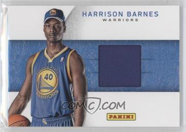 2012 Panini Black Friday - Rookie Hat Relics #18 - Harrison Barnes