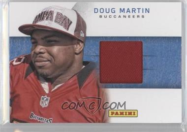 2012 Panini Black Friday - Rookie Hat Relics #6 - Doug Martin