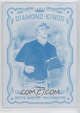 2012 Panini National Convention - Diamond Kings - Progressions Cyan #BK2 - Bryce Harper