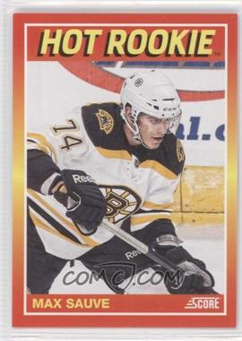 2012 Panini Toronto Fall Expo - Score Hot Rookies #4 - Max Sauve /399