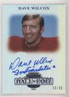 Dave Wilcox #33/35