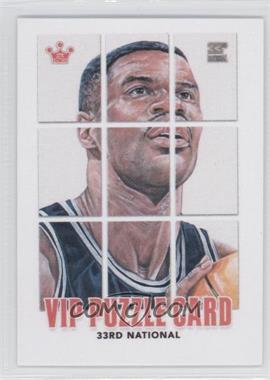 2012 Sportkings National Convention VIP Puzzle Card - [Base] #DARO.10 - David Robinson (Complete)