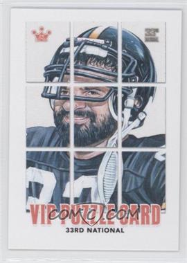 2012 Sportkings National Convention VIP Puzzle Card - [Base] #FRHA.10 - Franco Harris (Complete)