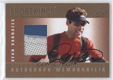 2012 Sportkings Series E - Autograph - Memorabilia - Gold #AM-DK2 - Dean Karnazes /10