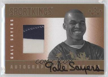 2012 Sportkings Series E - Autograph - Memorabilia - Gold #AM-GS1 - Gale Sayers /10