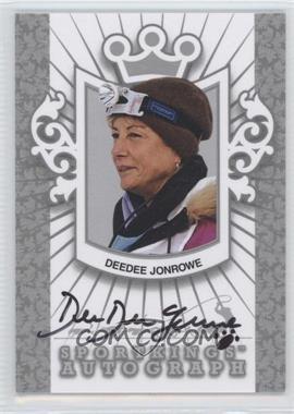 2012 Sportkings Series E - Autograph - Silver #A-DDJ1 - Deedee Jonrowe /40