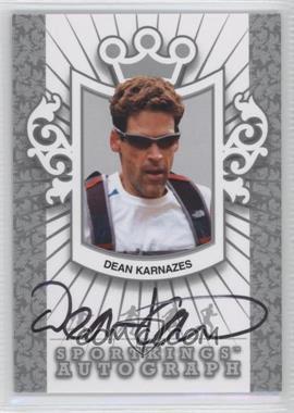2012 Sportkings Series E - Autograph - Silver #A-DK1 - Dean Karnazes /50