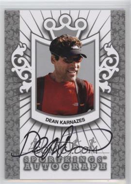 2012 Sportkings Series E - Autograph - Silver #A-DK2 - Dean Karnazes /50