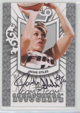 2012 Sportkings Series E - Autograph - Silver #A-JST1 - Jackie Stiles /50