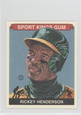 2012 Sportkings Series E - [Base] - Mini #213 - Rickey Henderson