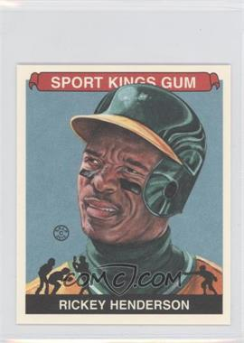 2012 Sportkings Series E - [Base] - Mini #213 - Rickey Henderson