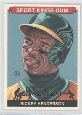 2012 Sportkings Series E - [Base] - Premium Back #213 - Rickey Henderson