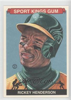 2012 Sportkings Series E - [Base] - Premium Back #213 - Rickey Henderson