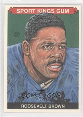 2012 Sportkings Series E - [Base] - Premium Back #232 - Roosevelt Brown