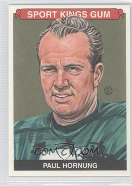 2012 Sportkings Series E - [Base] - Premium Back #233 - Paul Hornung