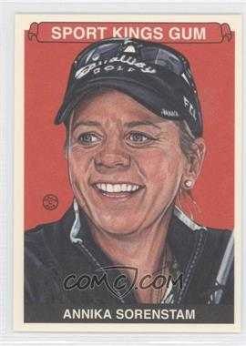 2012 Sportkings Series E - [Base] - Premium Back #235 - Annika Sorenstam