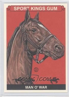 2012 Sportkings Series E - [Base] - Premium Back #241 - Man O' War