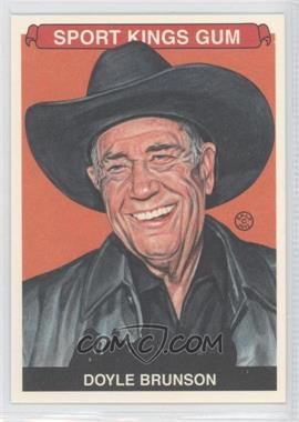 2012 Sportkings Series E - [Base] - Premium Back #246 - Doyle Brunson
