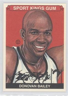 2012 Sportkings Series E - [Base] - Premium Back #253 - Donovan Bailey