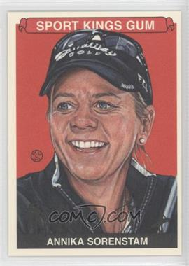 2012 Sportkings Series E - [Base] #235 - Annika Sorenstam