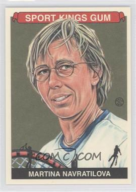 2012 Sportkings Series E - [Base] #251 - Martina Navratilova