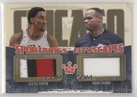 Scottie Pippen, Frank Thomas [EX to NM]