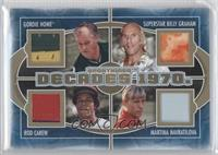 Gordie Howe, Superstar Billy Graham, Rod Carew, Martina Navratilova