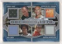 Gordie Howe, Superstar Billy Graham, Rod Carew, Martina Navratilova #/14