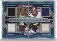 Doyle Brunson, Gordie Howe, Reggie Jackson, Eddie Murray /40